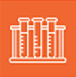 orange logo of bioscience