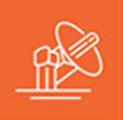 orange logo of directed energy