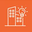 orange logo of city technology